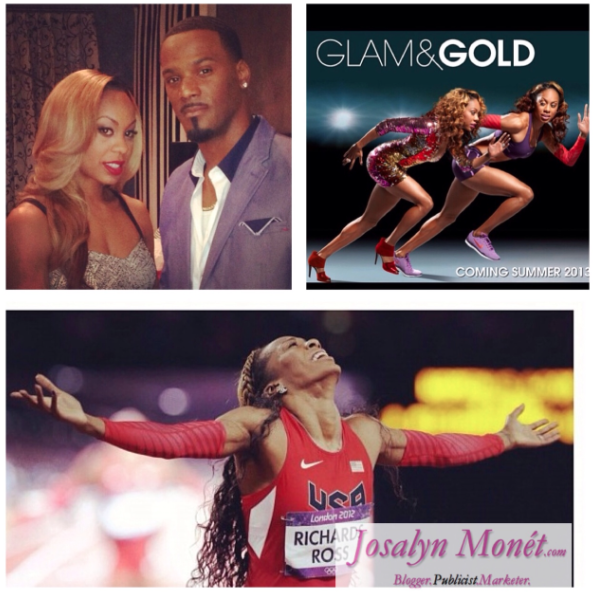 Track & Field Beauty Sanya Richards-Ross TV Show 'GLAM And GOLD' Coming Out July 25th!