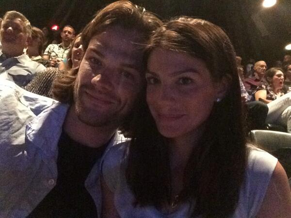 Jared Padalecki and his wife Genevieve