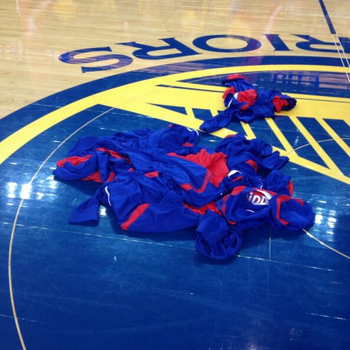 LA Clippers protest