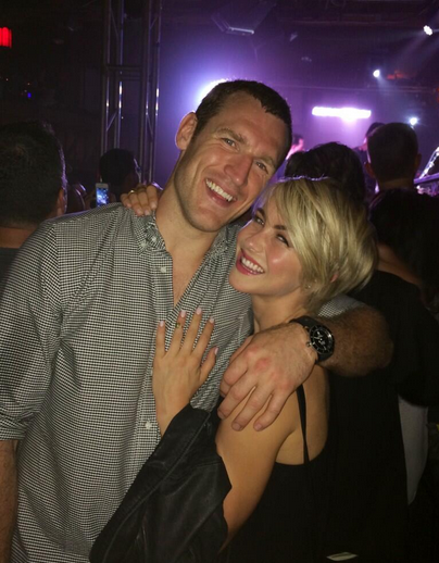 Julianne Hough and Brooks Laich 2014