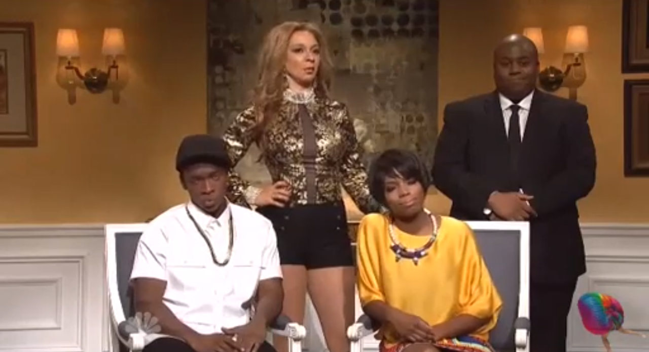 SNL Solange and Jay Z Skit