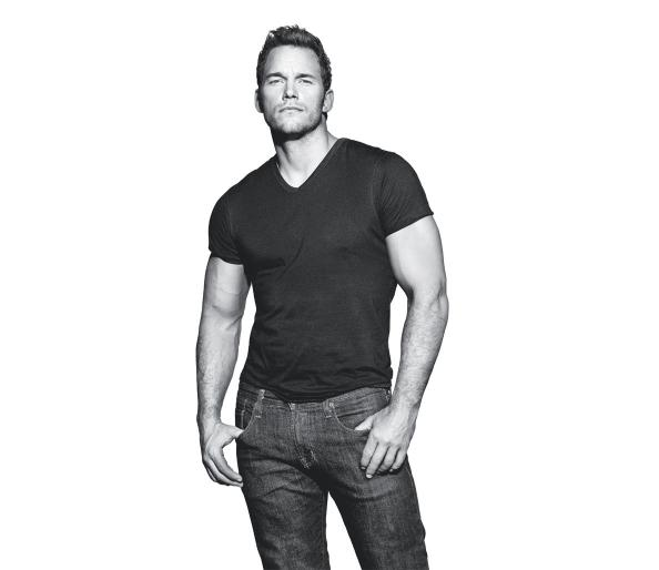 Chris Pratt- Men's Fitness