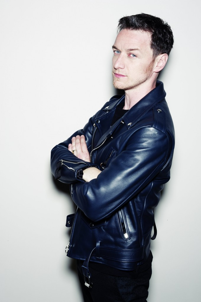 JAMES MCAVOY FOR NYLON GUYS MAGAZINE