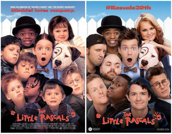 The Little Rascals Reunite for  Film's 20th Anniversary