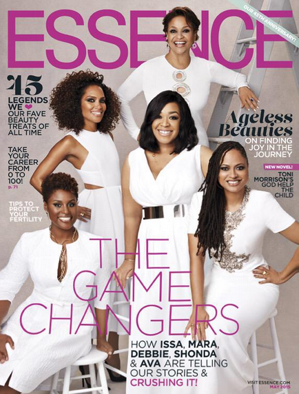 Ava-Duvernay-Shonda-Rhimes-Debbie-Allen-Issa-Rae-and-Mara-Brock-Akil-for-Essence-May-2015