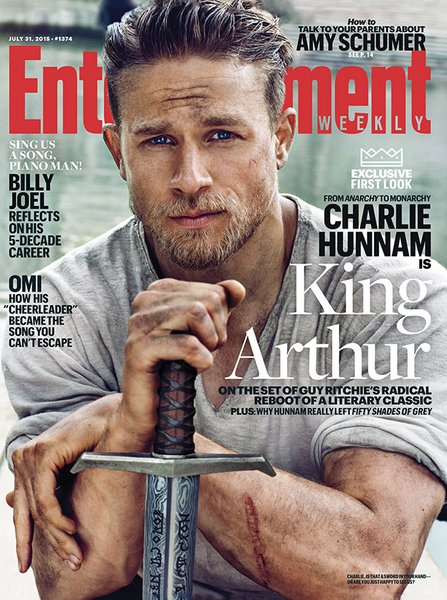 Charlie Hunnam- Entertainment Weekly