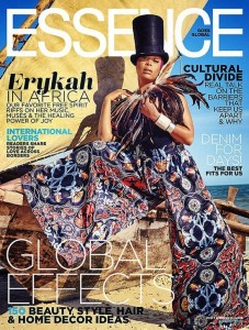 Erykah Badu for Essence