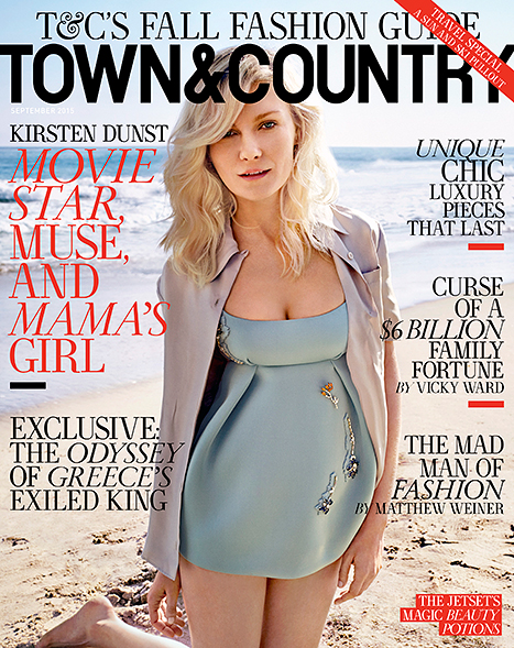 Kirsten-Dunst-Town-&-Country-Cover