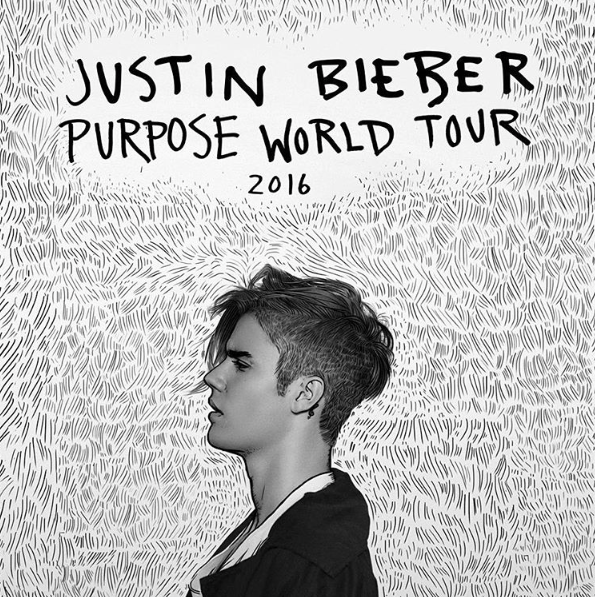 justin bieber- purpose world tour